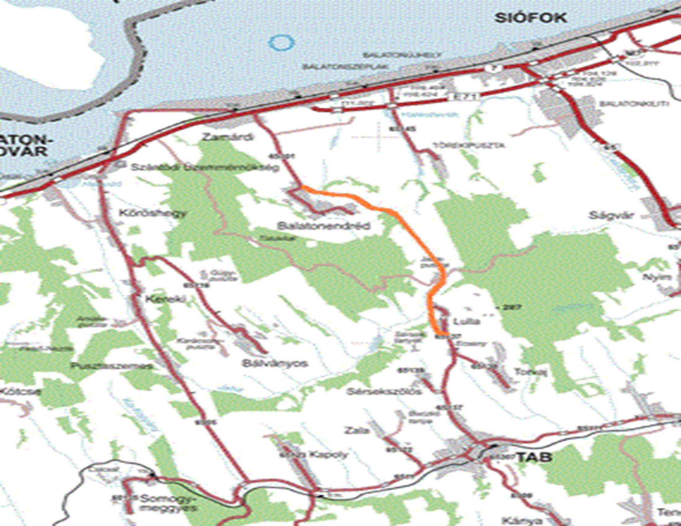 A komplex programmal fejlesztendő járások területi eloszlása
