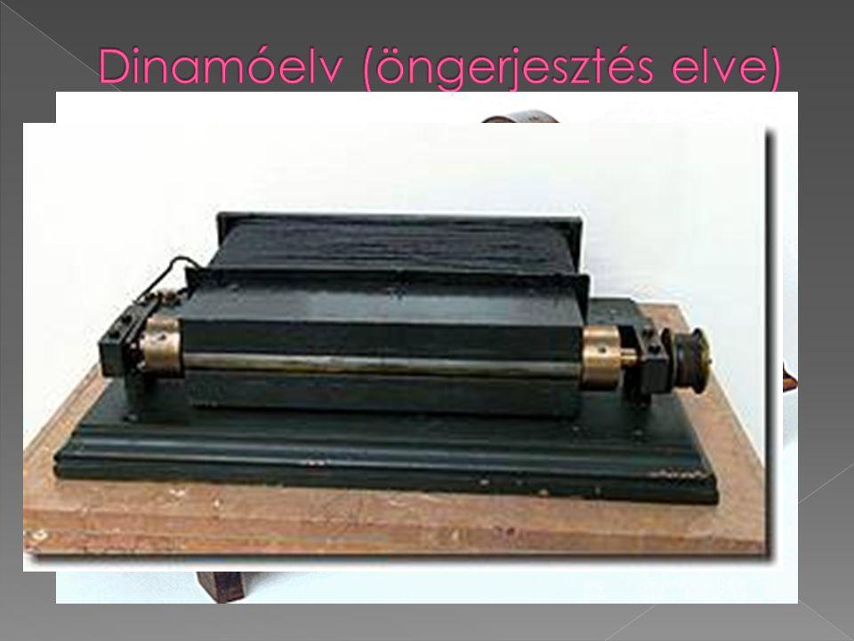  Ezeknek a dinamóknak a hatásfokát a mágneses szórás csökkentésével javították.