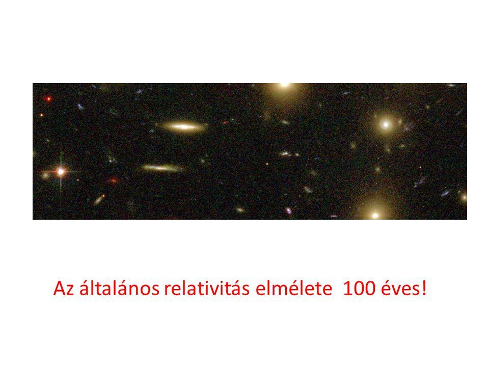 Az általános relativitás elmélete 100 éves!