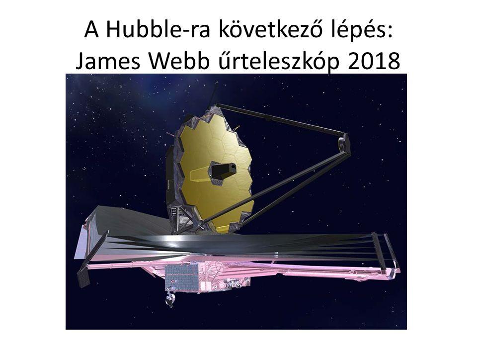 A Hubble-ra következő lépés: James Webb űrteleszkóp 2018