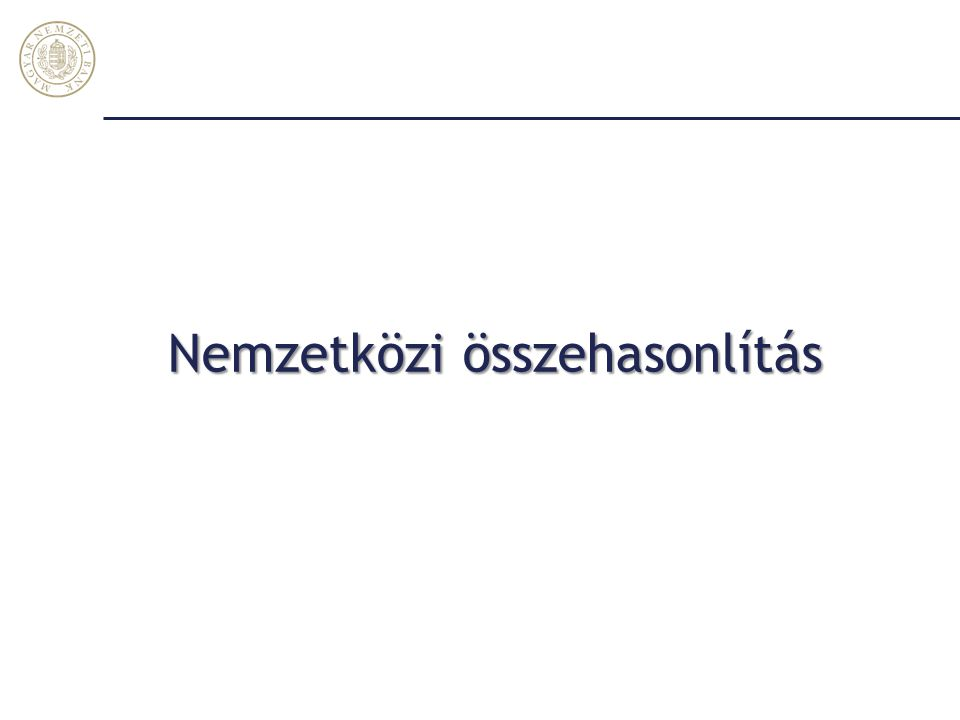 2014-ben a nagy külső finanszírozási képesség magas növekedéssel járt együtt Magyar Nemzeti Bank 25 *Európai Bizottság februári előrejelzése alapján, GDP arányában