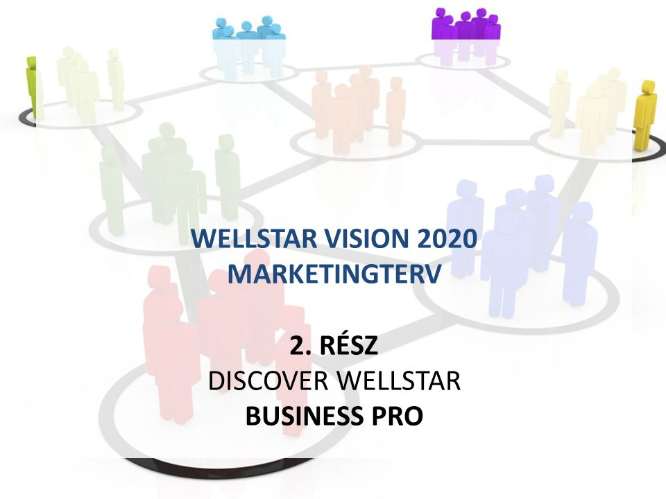 WELLSTAR VISION 2020 MARKETINGTERV 2. RÉSZ DISCOVER WELLSTAR BUSINESS PRO