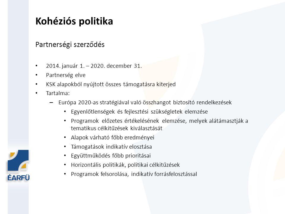 2014-20-as időszak tervezése