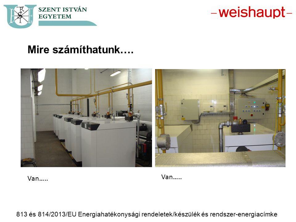 813 és 814/2013/EU Energiahatékonysági rendeletek/készülék és rendszer-energiacímke Mire számíthatunk…. Van…..