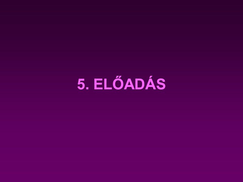 5. ELŐADÁS