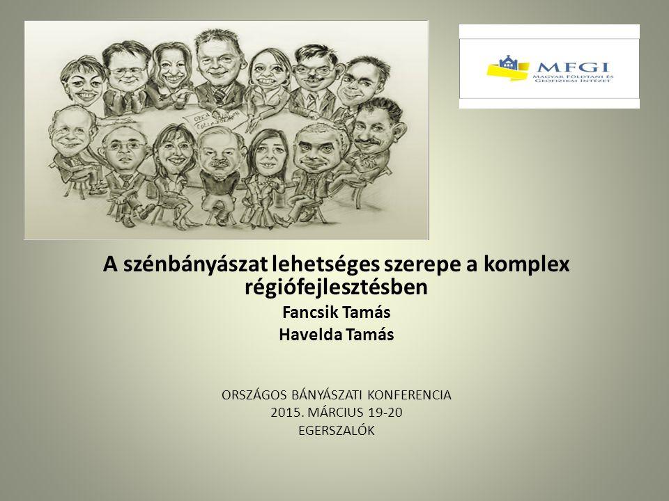 II. kapcsolódás a komplex régiófejlesztések hazai tervezéséhez Klaszterek jelentősége