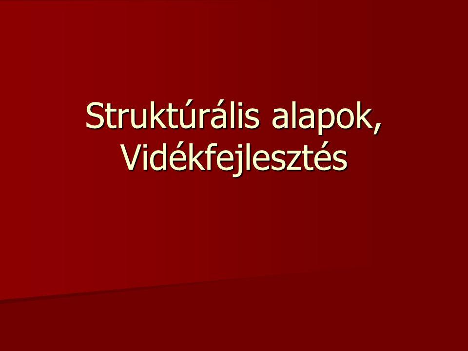 Struktúrális alapok, Vidékfejlesztés