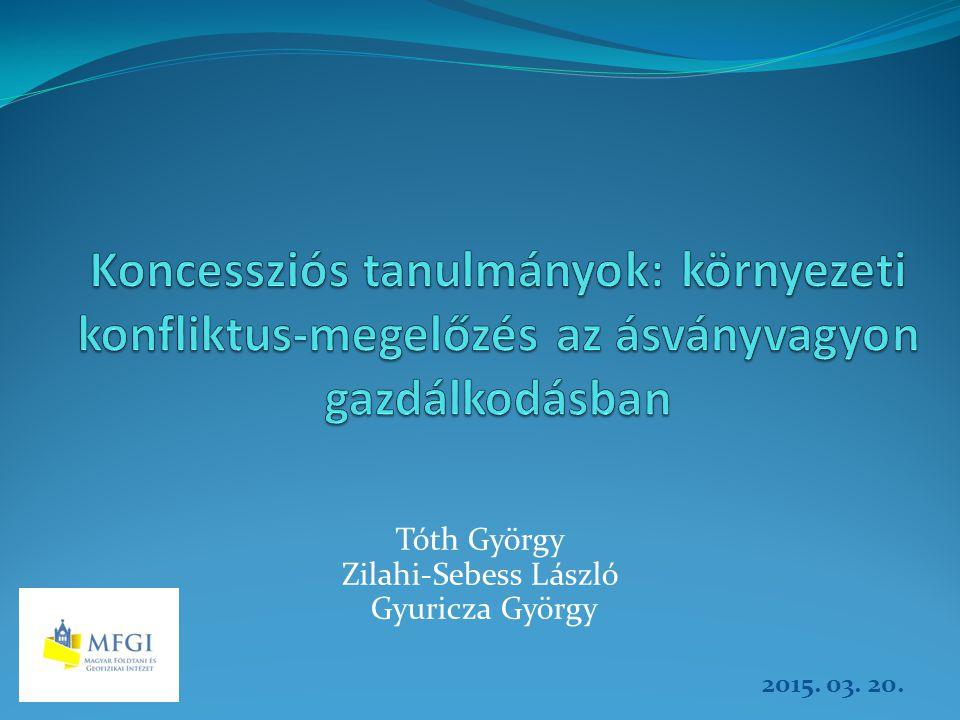 Tóth György Zilahi-Sebess László Gyuricza György 2015. 03. 20.