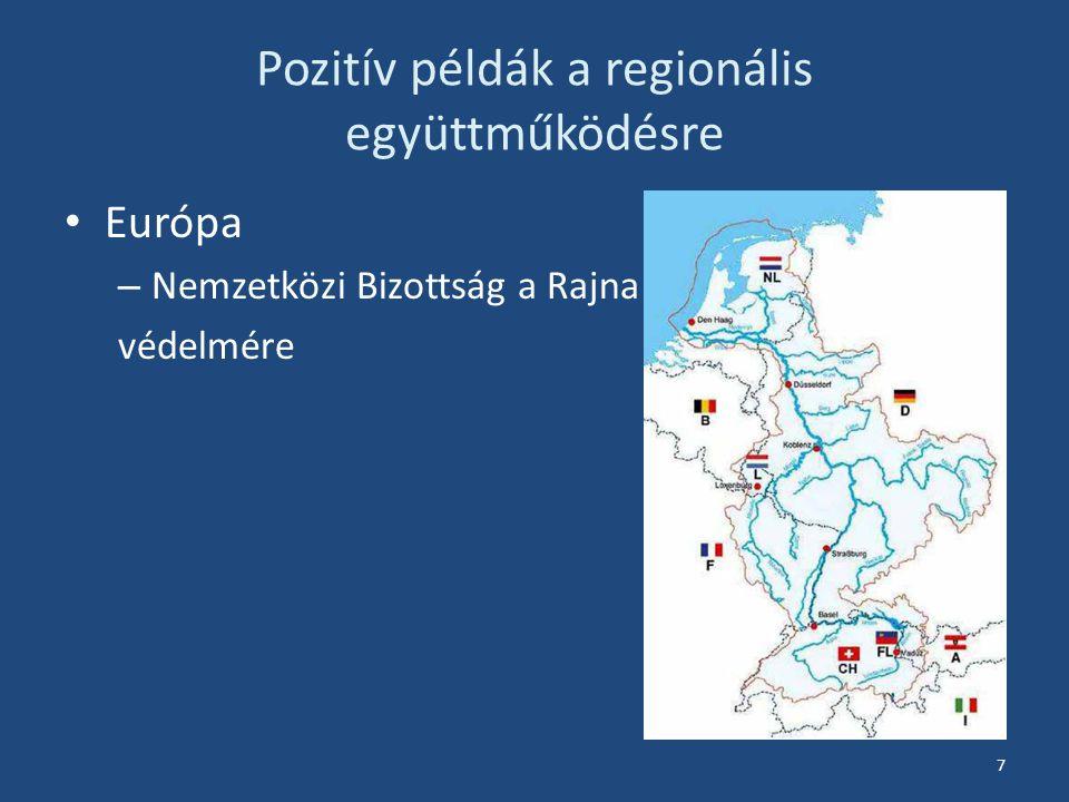 Pozitív példák a regionális együttműködésre Európa – Nemzetközi Bizottság a Rajna védelmére 7