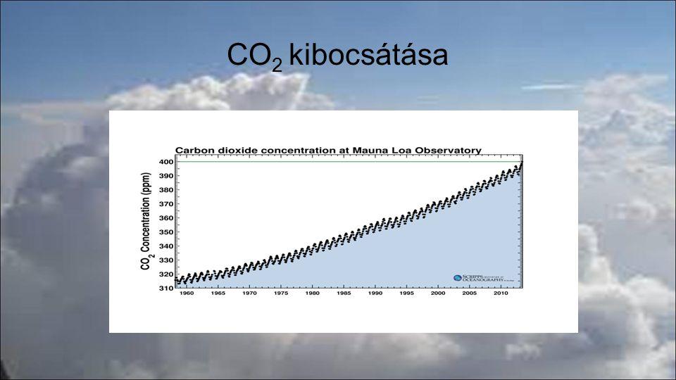 CO 2 kibocsátása
