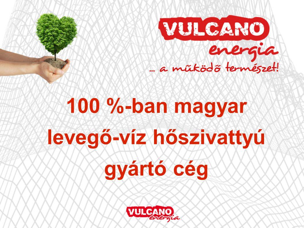 100 %-ban magyar levegő-víz hőszivattyú gyártó cég