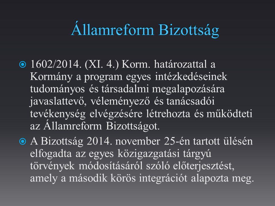  1602/2014.(XI. 4.) Korm.