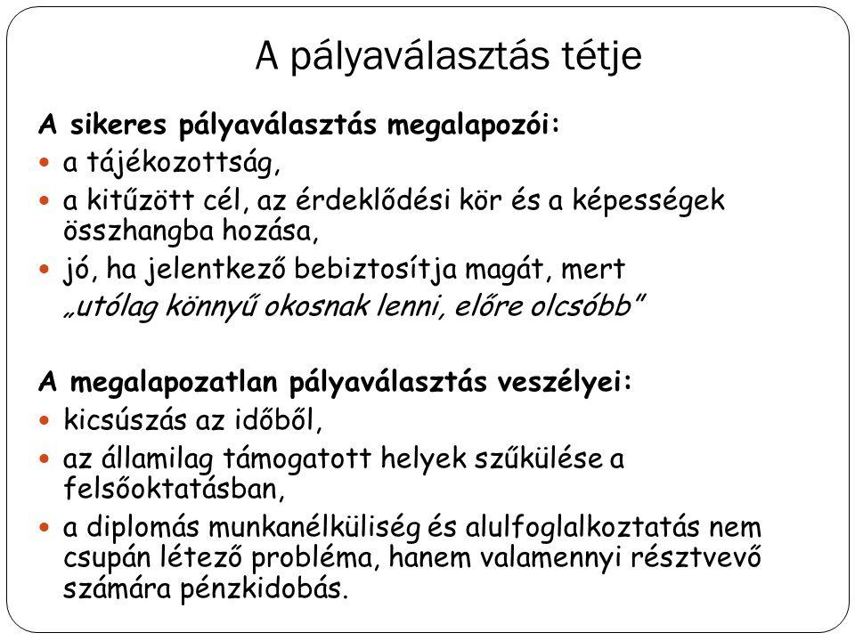 A felvételi eljárás praktikus tudnivalói 2014.dec.9.