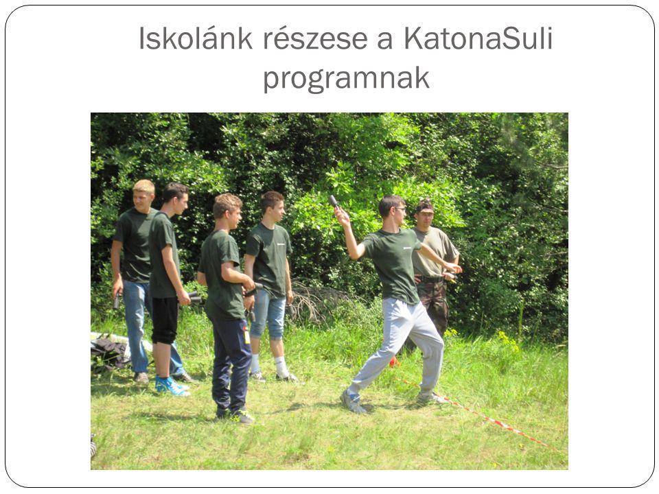 Iskolánk részese a KatonaSuli programnak