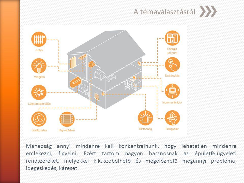 Az épületfelügyeleti rendszer fogalma, felépítése Az épületinformatika az ún.