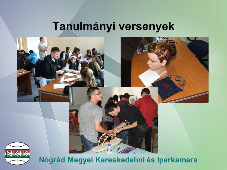 Nógrád Megyei Kereskedelmi és Iparkamara Tanulmányi versenyek