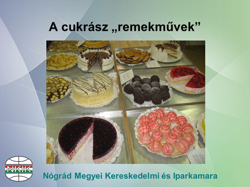 """Nógrád Megyei Kereskedelmi és Iparkamara A cukrász """"remekművek"""