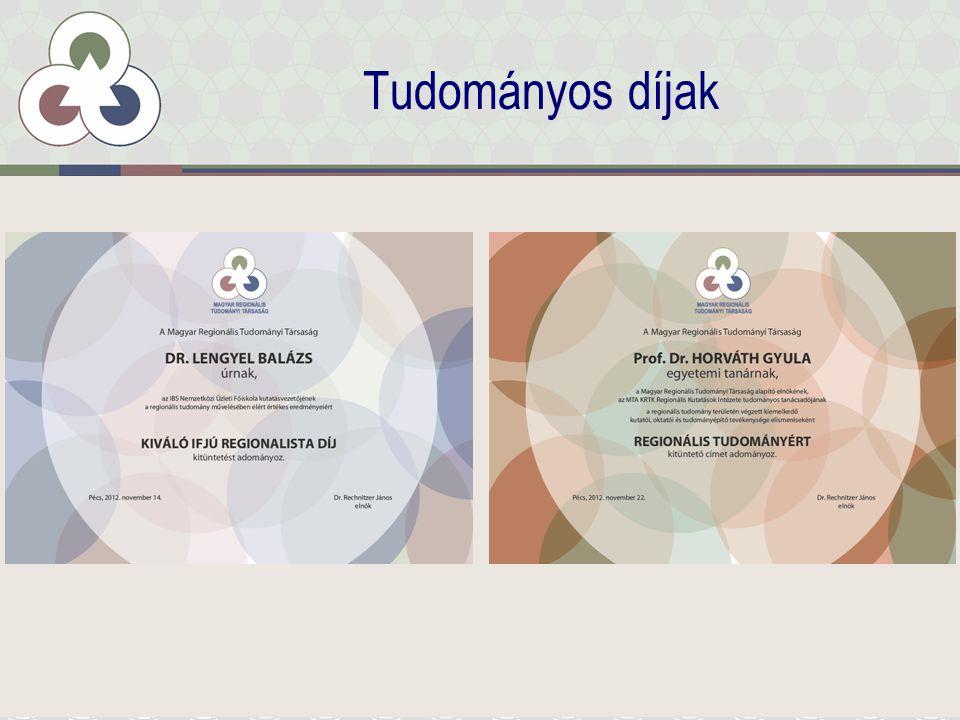 Tudományos díjak