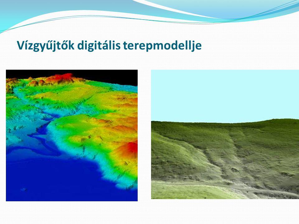 Vízgyűjtők digitális terepmodellje