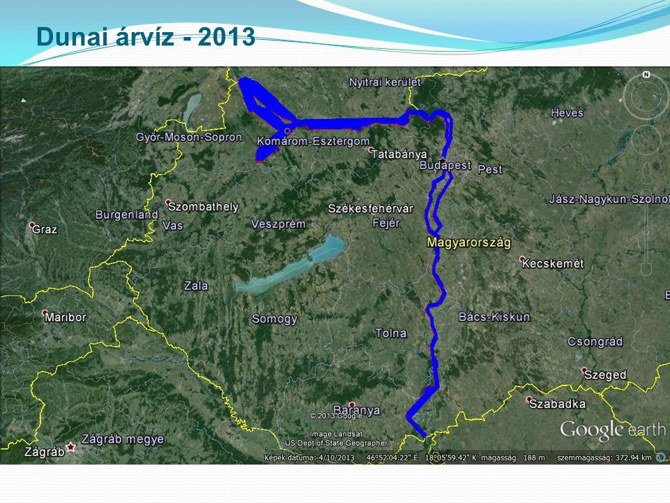 Dunai árvíz - 2013