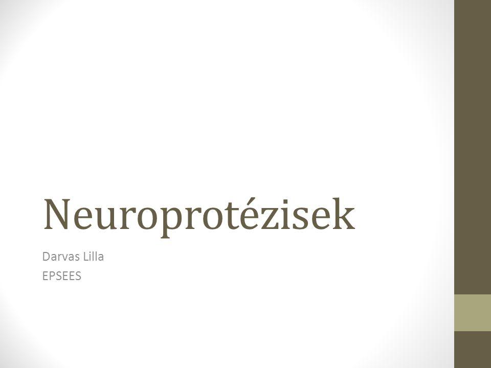 Neuroprotézisek Darvas Lilla EPSEES