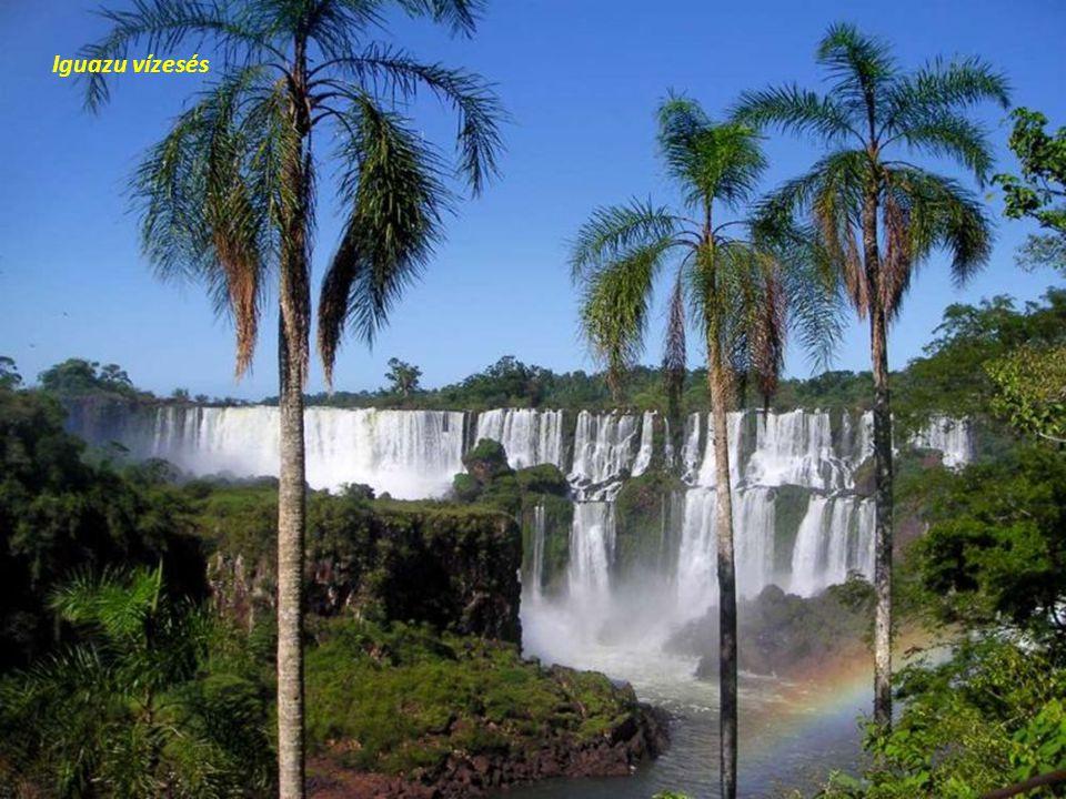 Iguazu vízesés – az Ördög Örvénye.
