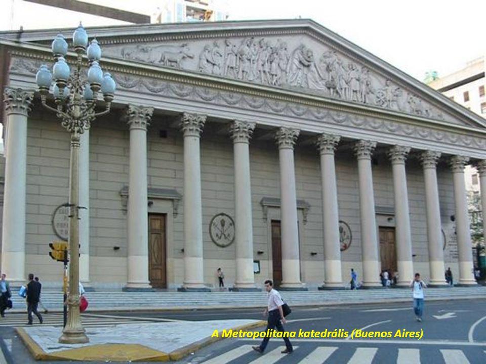 La Casa Rosada – a kormány székhelye