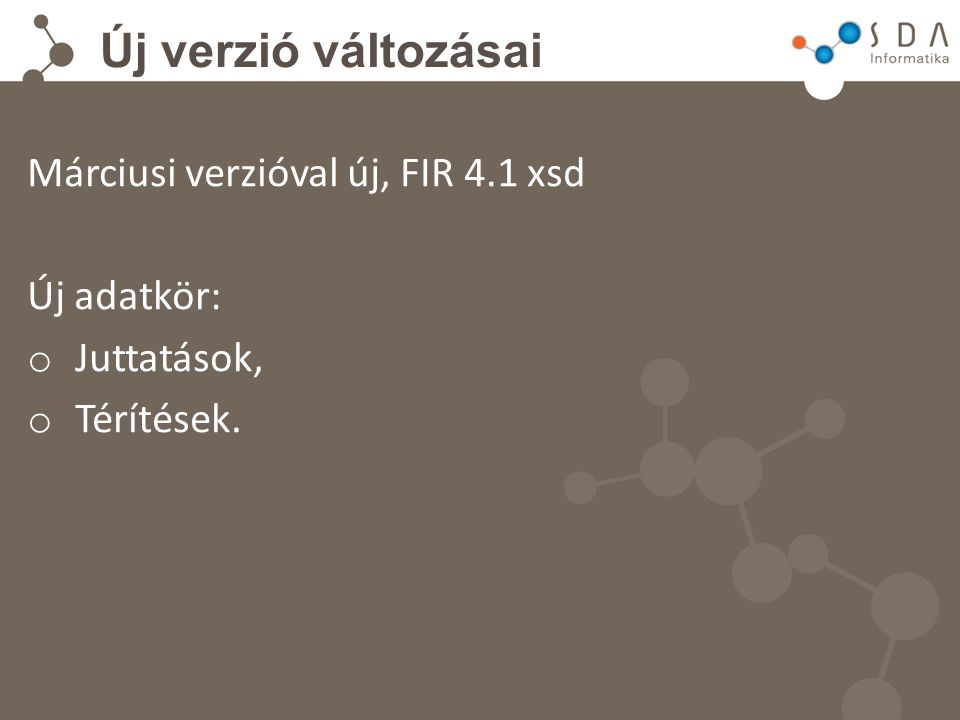 Új verzió változásai Feladatok: Új verzió kihelyezése után: TERÍTÉSKÉRÉS!!.