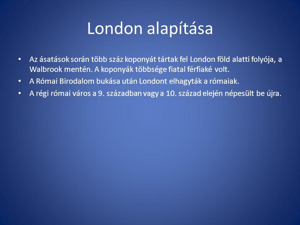 London a középkorban Westminster egykor önálló város volt, a középkor óta az angol királyi udvar székhelye.