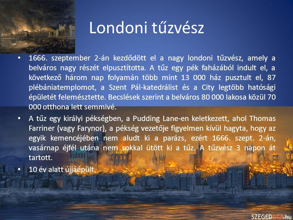 London a 19-20.században A 19. század elejére a világ legnagyobb városa lett.