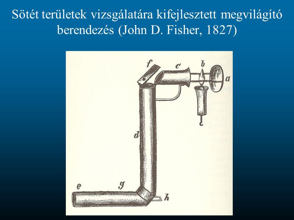 Ludwig Türk 1857-ben saját magán végzett vizsgálatot.