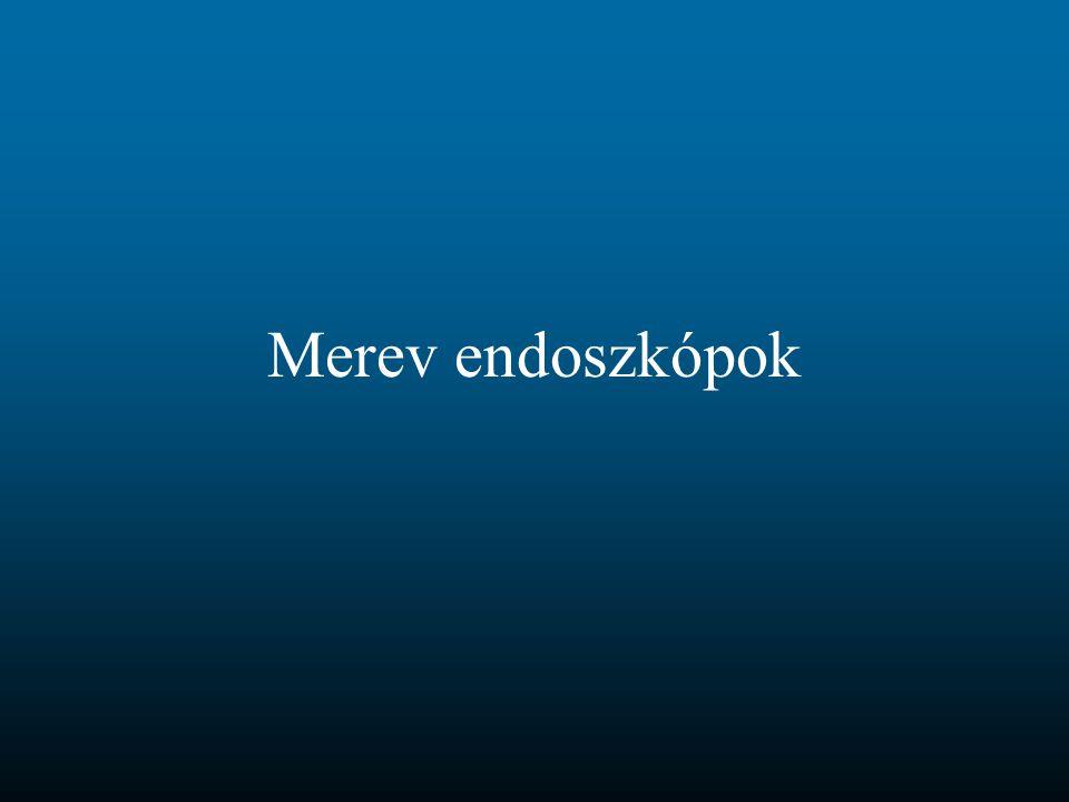 Merev endoszkópok