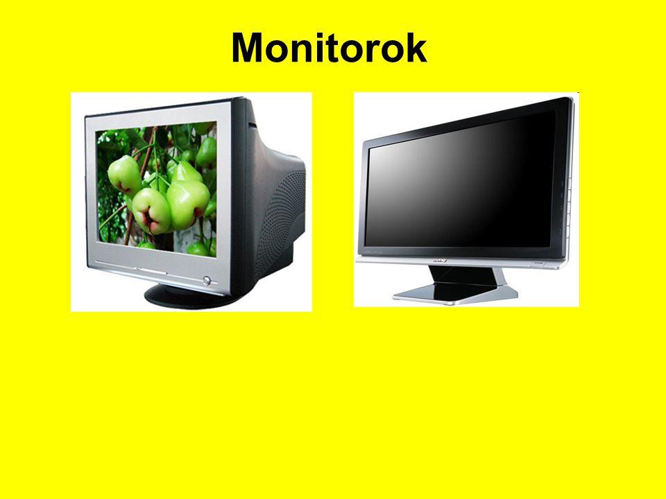 Adathordozók Tulajdonságaik : Kapacitás :1.44Mb, 512Mb, 1Gb, 2-4-8…16-32Gb 4.5Gb, 8.5GB, 40Gb, 80-160Gb – 1-1.5-2Tb Sebesség / adatelérés : Floppy .