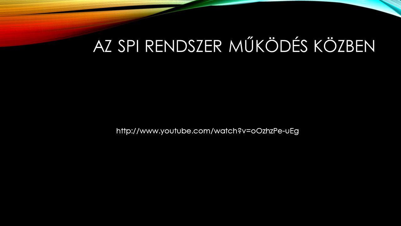 AZ SPI RENDSZER MŰKÖDÉS KÖZBEN http://www.youtube.com/watch?v=oOzhzPe-uEg