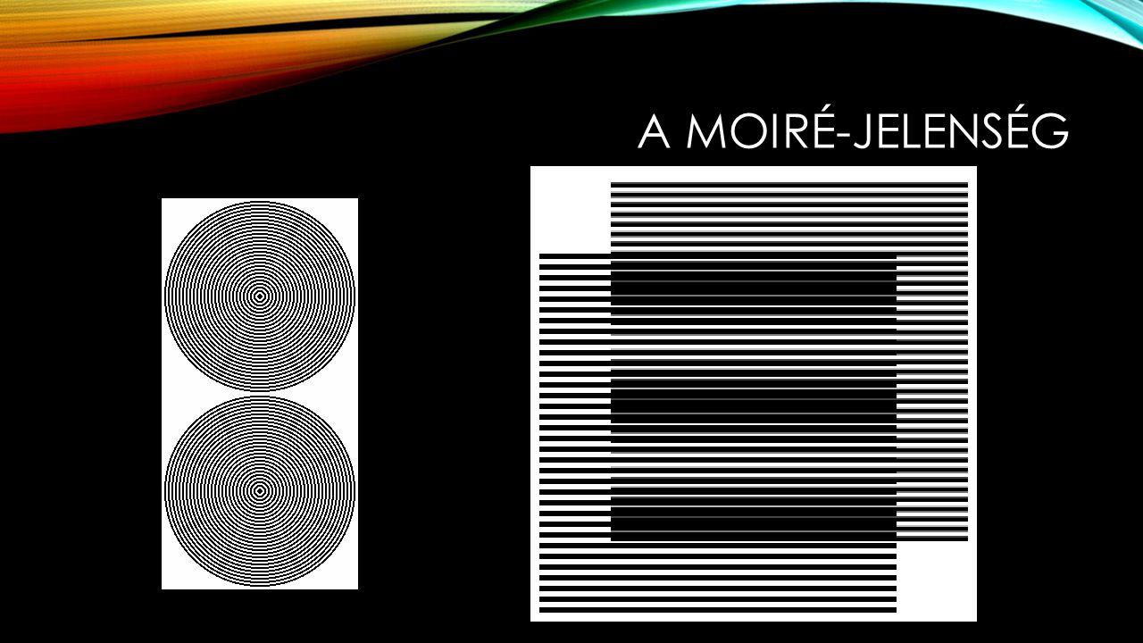 A MOIRÉ-MÓDSZER Az alapcsíkozatok egymásra hatásának eredményeként jön létre a moiré- jelenség, mely a mért vagy vizsgált felületet a térképek szintvonalaihoz hasonló, de annál általánosabb módon írja le.