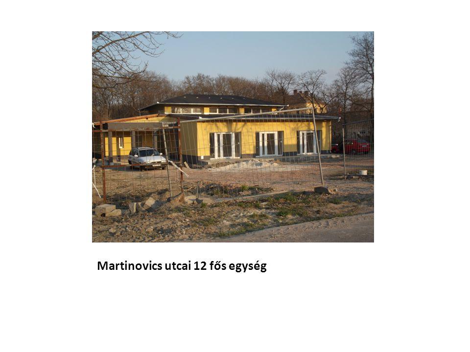 Martinovics utcai 12 fős egység