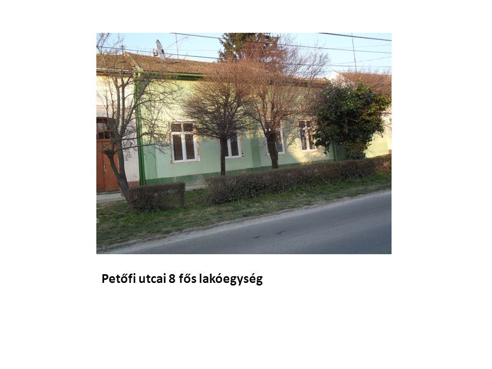 Petőfi utcai 8 fős lakóegység