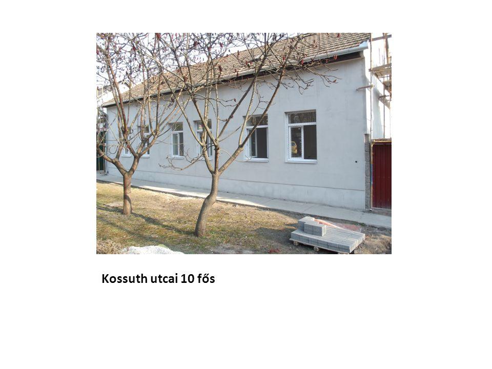 Kossuth utcai 10 fős