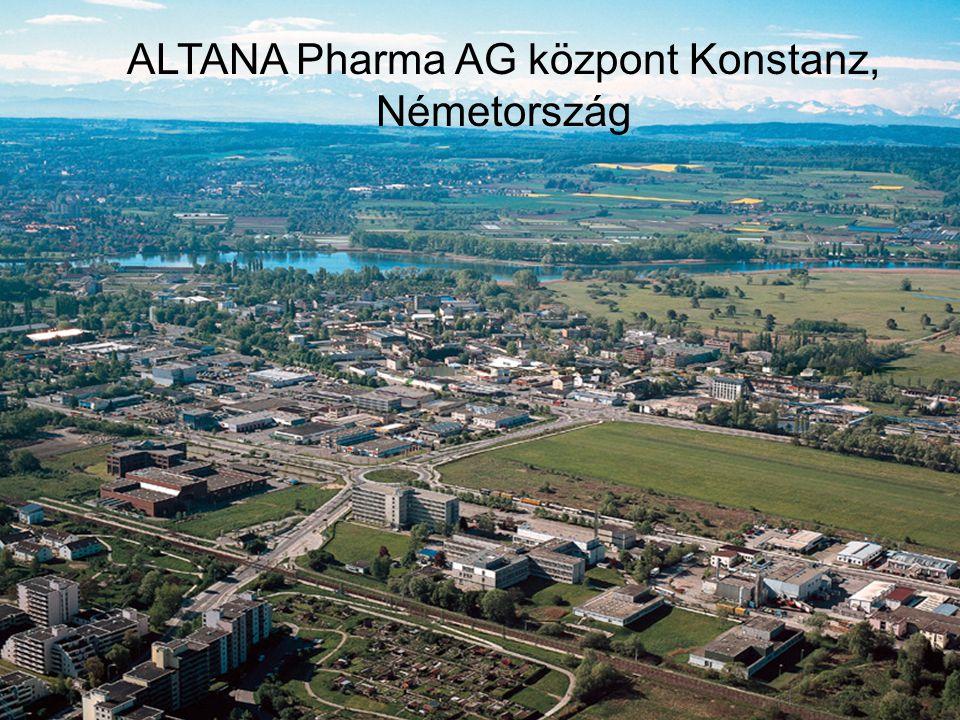 Készítette: Laász Piroska Informatikus-könyvtáros hallgató – Szakdolgozat melléklet ALTANA Pharma AG központ Konstanz, Németország