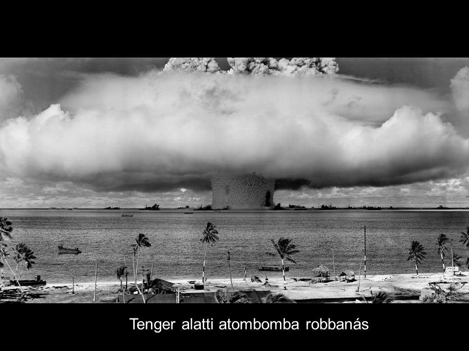 Tenger alatti atombomba robbanás