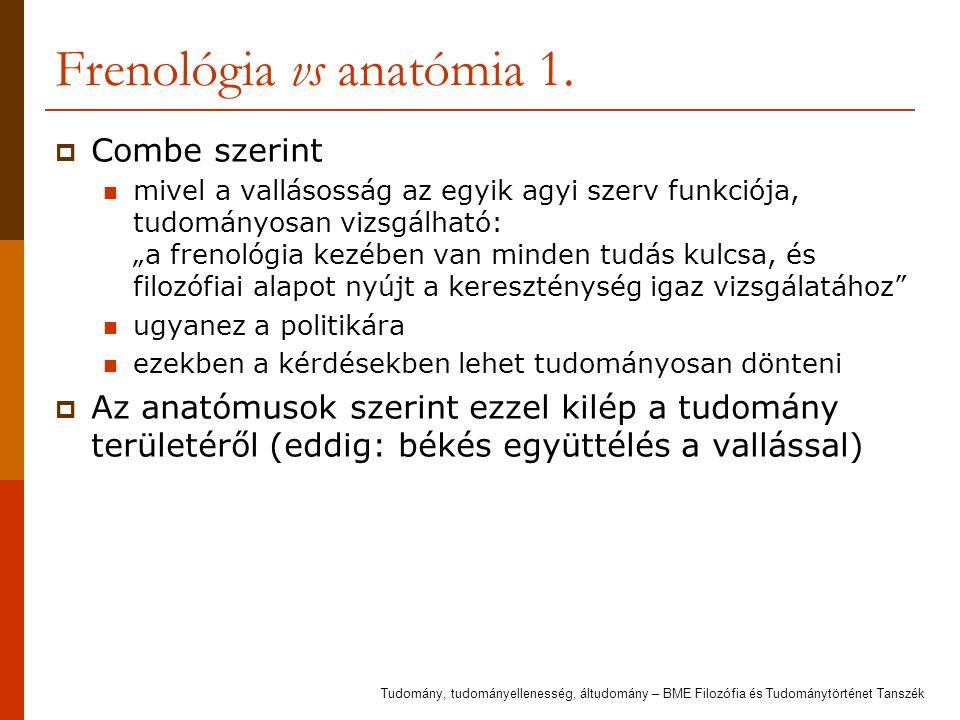 Frenológia vs anatómia 2.