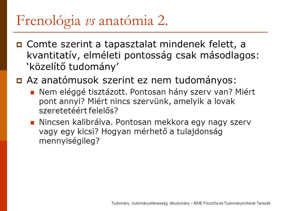 Frenológia vs anatómia 3.