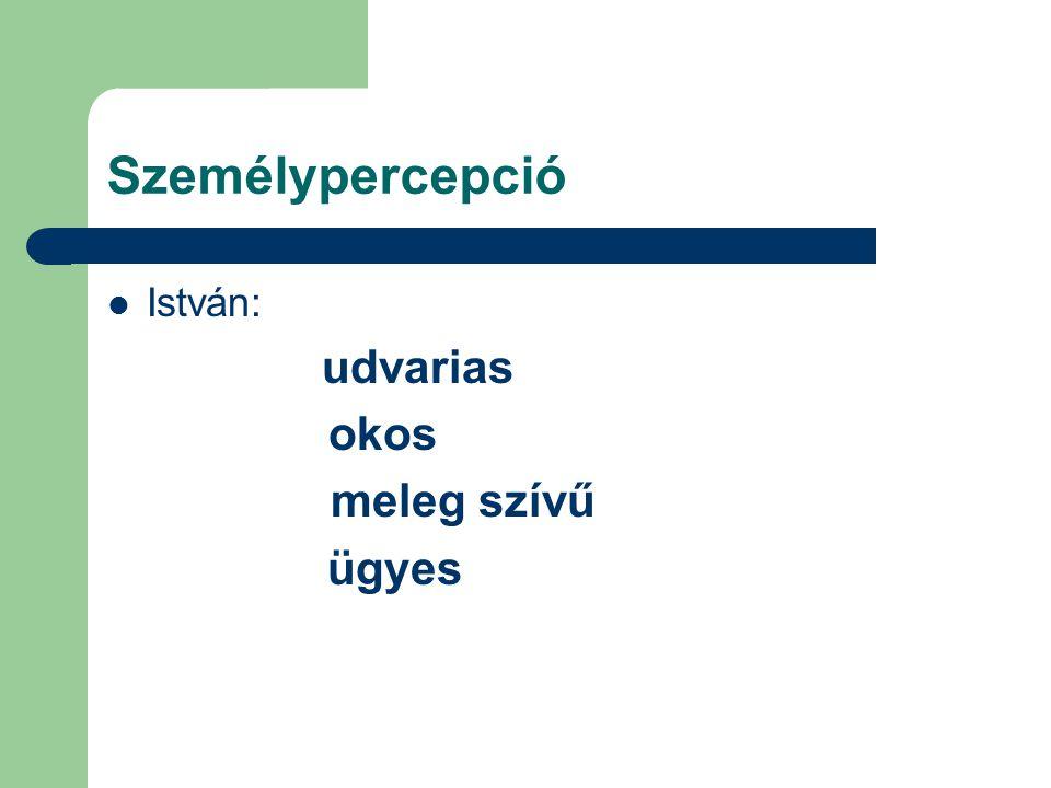 A csoport pszichológiai jellemzői: szerepek és típusai Szerep= a tagok által elfoglalt szociális státusz.