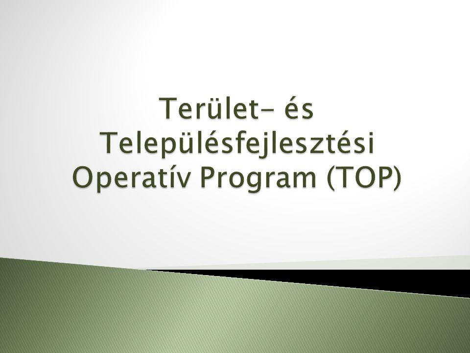 Cél: a TOP által finanszírozott gazdaságfejlesztési és foglalkoztatási beavatkozások összehangolt fejlesztése Paktumok létrehozásának, működésének támogatása, tevékenységi körük és hatékonyságuk növelése Megyei szintű foglalkoztatási megállapodások, együttműködések Megyei foglalkozatási stratégia tervezése, partnerséget szervező szervezet létrehozása és működtetése Helyi foglalkoztatási együttműködések (települési is elképzelhető) Helyi stratégia tervezése (kutatás, felmérés, műhelymunka), partnerség kialakítása és működtetése Munkanélküli és inaktív helyi lakosság munkaerőpiacra történő belépését, foglalkoztathatóságuk növelését és vállalkozóvá válásukat támogató programok TOP 1.-es prioritás keretében megvalósuló beruházásokhoz (pl.