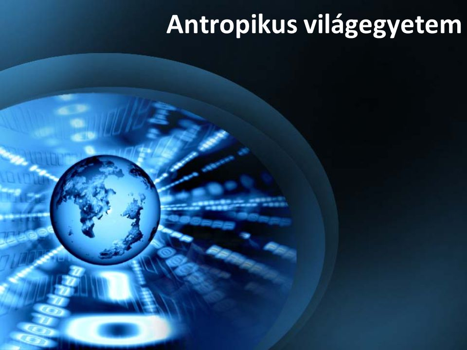 Antropikus világegyetem