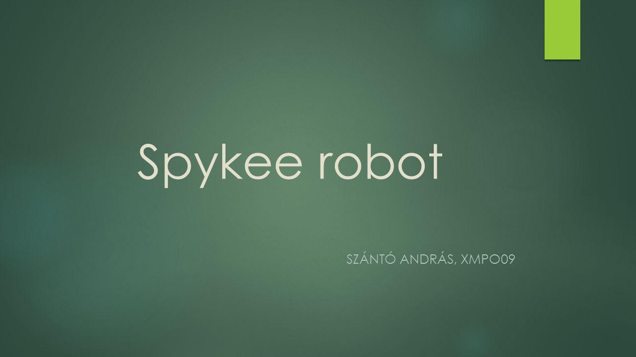 Spykee robot SZÁNTÓ ANDRÁS, XMPO09