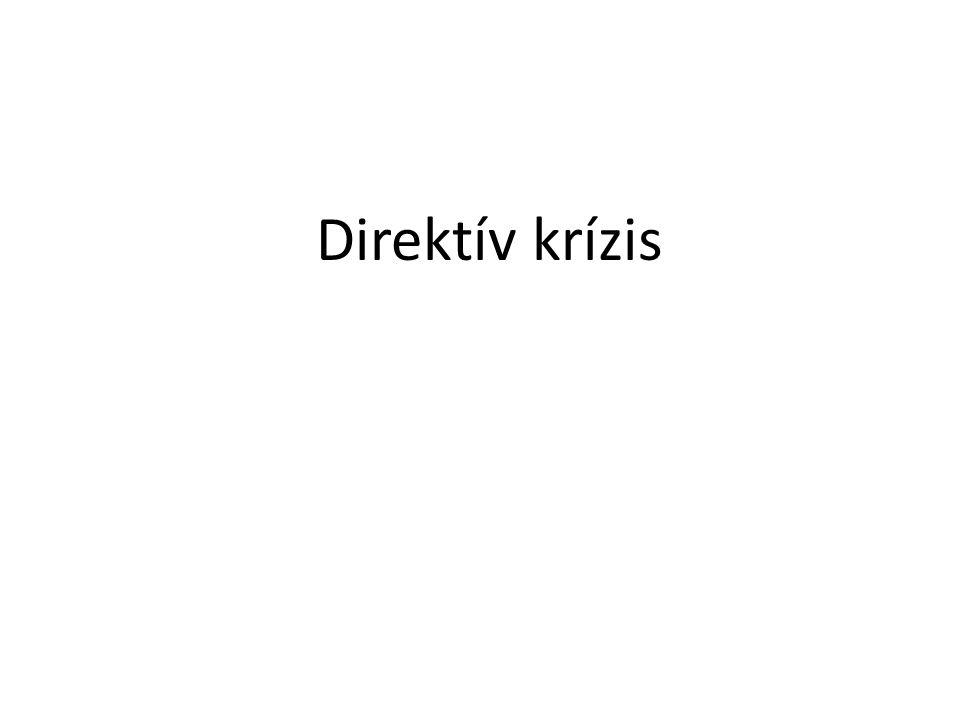 Direktív krízis