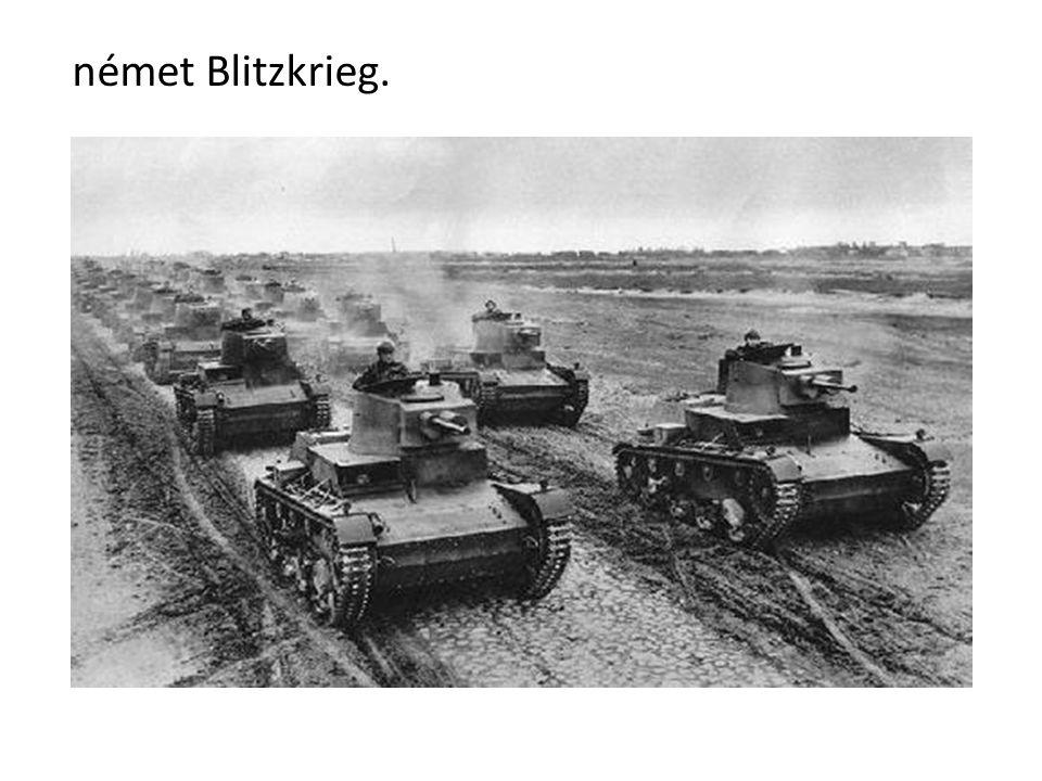 német Blitzkrieg.