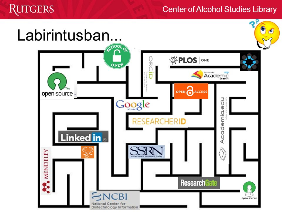 Center of Alcohol Studies Library ImpactStory Altmetric