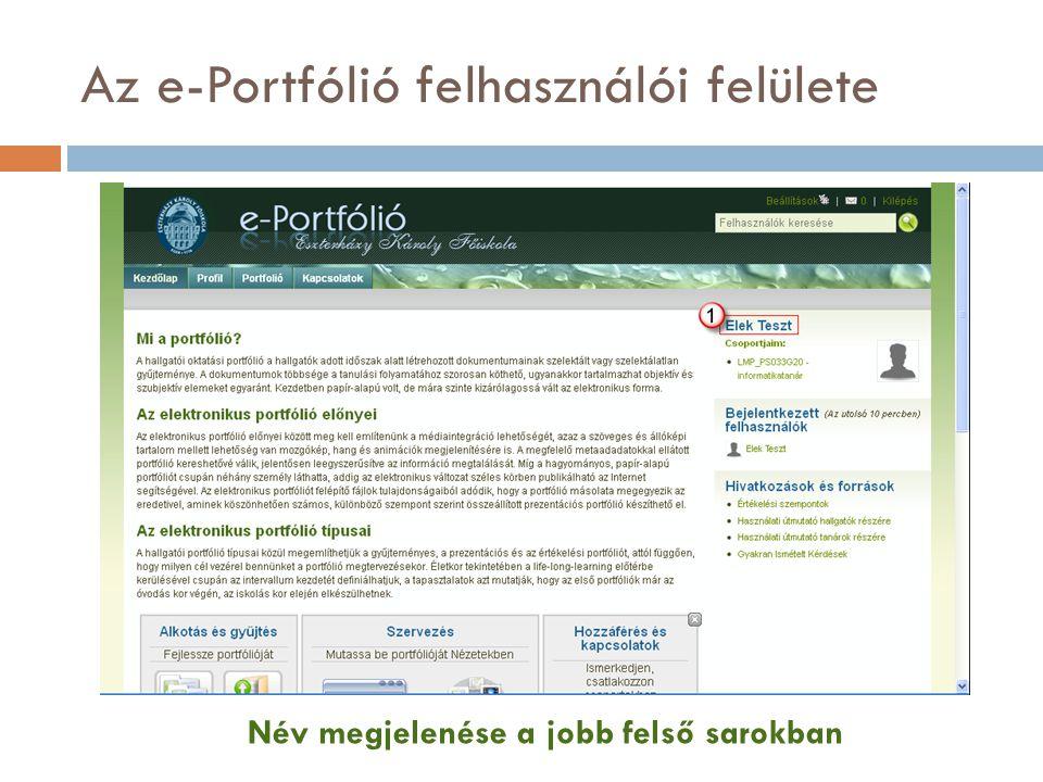 Profil szerkesztése Vezetéknév, Keresztnév ellenőrzése